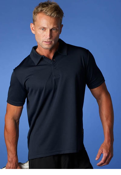 1307 MEN'S BOTANY POLO