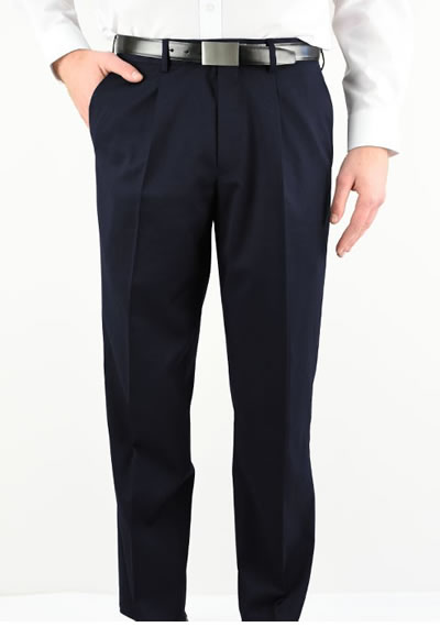 1801 MEN'S PLEATED FRONT PANT