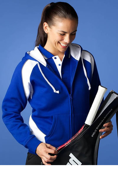 2511 LADIES PANORAMA ZIP HOOD