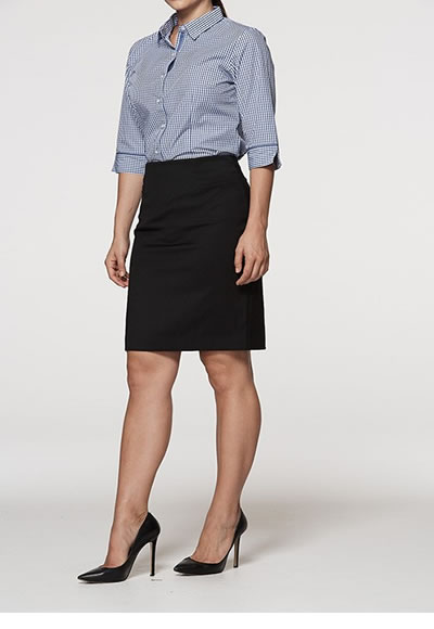 2802 LADIES CLASSIC KNEE LENGTH SKIRT