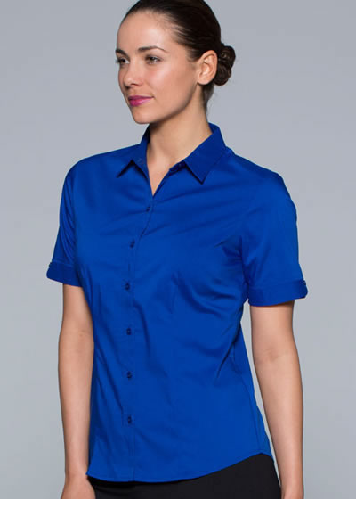 2903S LADIES MOSMAN STRETCH S/SLEEVE SHIRT