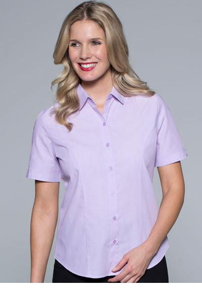 2905S LADIES BELAIR STRIPE S/SLEEVE SHIRT