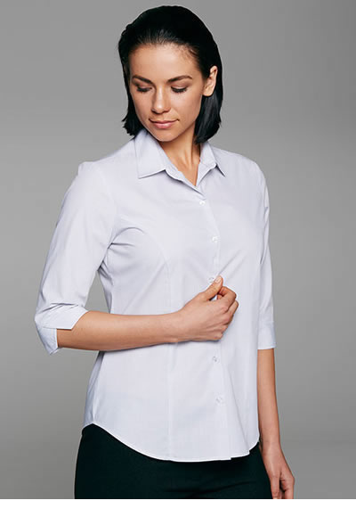 2905T LADIES BELAIR STRIPE 3/4 SLEEVE SHIRT