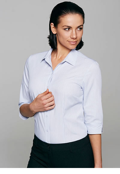 2906T LADIES BAYVIEW 3/4  SLEEVE SHIRT