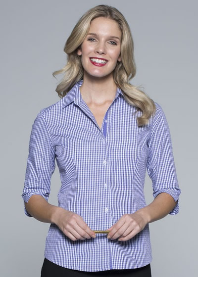 2907T LADIES EPSOM 3/4 SLEEVE SHIRT